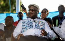 FILE: UDPS opposition party leader Felix Tshisekedi looks at supporters during a rally in Kinshasa on 24 April 2018, the first opposition rally authorised since September 2016. Picture: AFP.