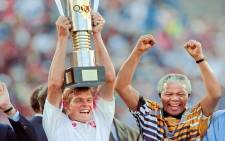 Neil Tovey led Bafana Bafana to victory at the 1996 African Cup of Nations. Picture: Facebook.com