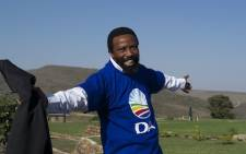 AbaThembu King Dalindyebo at his home in Qunu in the Eastern Cape just after he officially joined the DA on 15 July. Picture:EWN