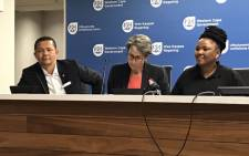 Western Cape Health Department officials giving an update on the province's readiness to deal with the coronavirus (Covid-19) on 2 March 2020. Picture: Kevin Brandt/EWN