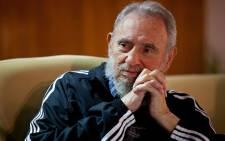 FILE: Fidel Castro. Picture: AFP.