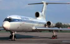 This file photo shows a Tupolev-154 (TU-154) aircraft. Picture: AFP.