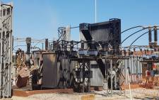 The damage to the Allandale substation in Johannesburg after fire. Picture: @CityPowerJhb/Twitter