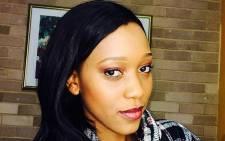 Muvhango actress Buhle Samuels. Picture: Twitter via @Ladybelcuta.