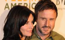 Actors Courteney Cox and David Arquette pose on the red carpet. Picture: AFP
