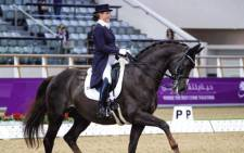 Tanya Seymour pulls out of the Tokyo Olympic Games after her horse Ramoneur suffers a debilitating case of laminitis. Picture:  Tanya Seymour /Facebook.