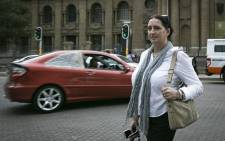 FILE: Convicted racist Vicky Momberg. Picture: Sethembiso Zulu/EWN.