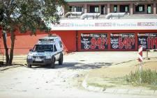 FILE: A police vehicle in Vuwani, Limpopo. Picture: Pelane Phakgadi/EWN