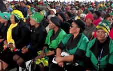 The ANCWL members attended the National Women's Day celebrations in Kimberley in the Northern Cape, where President Jacob Zuma delivered the keynote address on Wednesday 9 August 2017. Picture: Twitter/@GovernmentZA.
