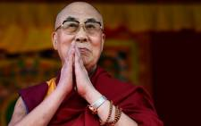 FILE: The Dalai Lama in June 2015. Picture: AFP