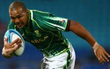 Springbok winger Cornal Hendricks, pictured in action for the Blitzbokke. Picture: Facebook.com