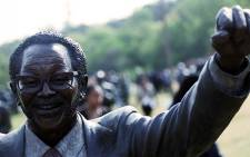 A statue of Oliver Tambo at the newly launched National Heritage monument in Pretoria. Picture: Reinart Toerien/EWN