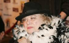 FILE: Actress Rose Marie arrives at the Hollywood Film Festival presentation of 'Bullets Over Hollywood' at the Arclight Theatre 20 October 2005 in Los Angeles. Picture: AFP