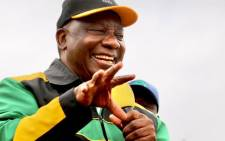 ANC president CyriL Ramaphosa campaigning in the eThekwini region on 10 October 2021. Picture: @MYANC/Twitter