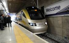 FILE. Gautrain management reached a wage agreement with staff at the eleventh hour, avoiding a strike. Picture: Werner Beukes/SAPA