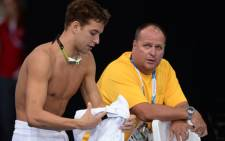 Chad le Clos at the 2014 Commonwealth Games in Glasgow. Picture: Wessel Oosthuizen