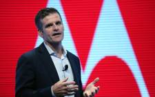 CEO of Motorola Mobility, Dennis Woodside. Picture: AFP