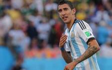 Argentina attacker Angel di Maria. Picture: Facebook.com