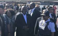 President Cyril Ramaphosa is launching the anti-gang unit in Cape Town 0n 2 November 2018. Picture: Lauren Isaacs/EWN