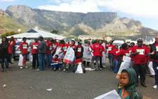 Unions march in Cape Town over the looming closure of 27 schools in Cape Town and other Education issues. Picture: Rahima Essop/EWN.
