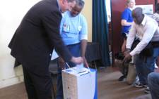 FILE: Midvaal mayor Timothy Nast casting his vote in 2011. Picture: Nastasya Tay/EWN