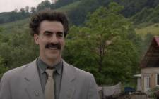 A screenshot from 'Borat Subsequent Moviefilm'. Picture: Amazon Prime Video/Youtube