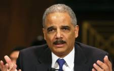 US Attorney General Eric Holder. Picture: AFP.