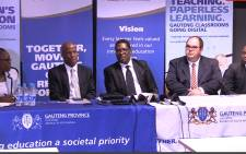 Gauteng Education MEC Panyza Lesufi spoke about his department's plans for 2015 grade 12 exams.Picture Kgothatso Mogale/EWN