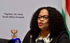 FILE: Communications Minister Nomvula Mokonyane. Picture: GCIS.