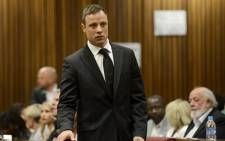FILE: Oscar Pistorius arrives at the High Court in Pretoria on 21 October 2014. Picture: Pool.