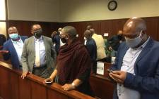 FILE: Former eThekwini Mayor Zandile Gumede and and some of her co-accused appear in the Durban Commercial Crimes Court on 10 September 2020 on charges relating to corruption. Picture: Nkosikhona Duma/EWN