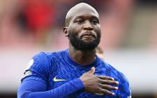 Chelsea's Romelu Lukaku celebrates after scoring a goal against Arsenal in their English Premier League match on 22 August 2021. Picture: @ChelseaFC/Twitter
