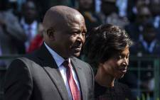 Deputy president of South Africa David Mabuza at Loftus stadium for the inauguration of Cyril Ramaphosa as the sixth democratically elected president. Picture: Abigail Javier/EWN.