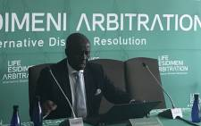 FILE: Retired Deputy Chief Justice Dikgang Moseneke is in charge of the Esidimeni dispute resolution process. Picture: Masego Rahlaga/EWN