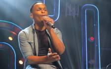 Siphelele sings L'loyd Cele and Loyiso Bala's hit 'Thando' shortly before discovering that he has not received enough votes to remain in Idols SA Season 11' Picture: Louise McAuliffe/EWN