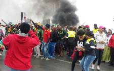 Numsa members strike in Richards Bay. Picture: Supplied.