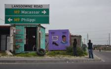 Response to crime in the township is difficult because shacks are badly designed and unnumbered - police. Picture: Aletta Gardner/EWN