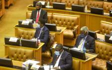 Members of Parliament listen as Finance Minister Tito Mboweni delivers his Budget speech on 24 February 2021. Picture: GCIS.