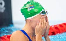 South African swimmer Tatjana Schoenmaker broke the 200m breaststroke world record on he way to the Olympic gold medal at the 2020 Tokyo Olympic Games on 30 July 2021. Picture: Anton Geyser/SASPA/SASI