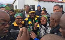 ANC deputy president Cyril Ramaphosa visits the Drakeinteon Municipality on a two-day visit to the Western Cape ahead of the Local Government Elections on Wednesday. Picture: Xolani Koyana/EWN