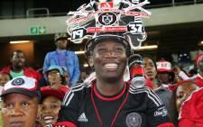 Orlando Pirates fans at the Orlando Stadium. Picture: Leeto M Khoza/EWN.