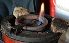 An example of an unsafe paraffin stove in a Sweet Home Farm household. Picture: Aletta Gardner/EWN