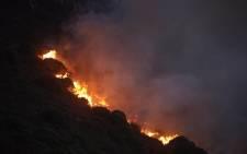 Hout Bay fire. Picture: Aletta Gardner/EWN