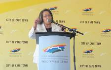 Cape Town Mayor Patricia de Lille. Picture: Chanel September/EWN.