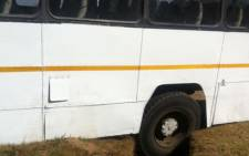 38 Witkoppen Primary School children were injured when their bus veered off the road and into a ditch on 5 August 2013. Picture: Mia Lindique/EWN
