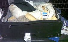 FILE: Drugs worth R3 million were confiscated at the Cape Town International Airport on 1 July 2012. Picture Supplied.