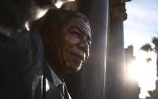 The bronze statue of Nelson Mandela outside the City Hall in Cape Town, the place where he addressed thousands of supporters on his release from prison in 1990. Picture: Bertram Malgas/EWN