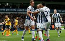 Two headers by Craig Dawson and a Hal Robson-Kanu strike lifted West Bromwich Albion to a 3-1 win over Arsenal. Picture: Twitter @WBA