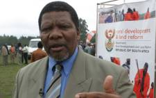 FILE: Traditional leaders met with minister Gugile Nkwinti on Thursday to raise concerns. Picture: ruraldevelopment.gov.za