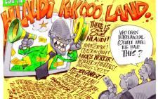 CARTOON: Welcome to Hlaudi KakCOO Land!